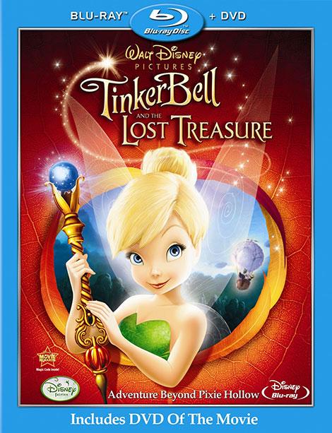 دانلود دوبله فارسی انیمیشن Tinker Bell and the Lost Treasure 2009