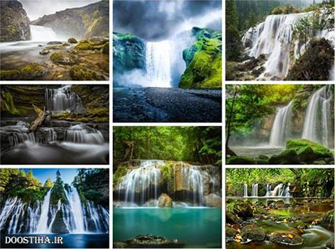 دانلود والپیپرهای زیبا از آبشار Wallpapers with Waterfalls