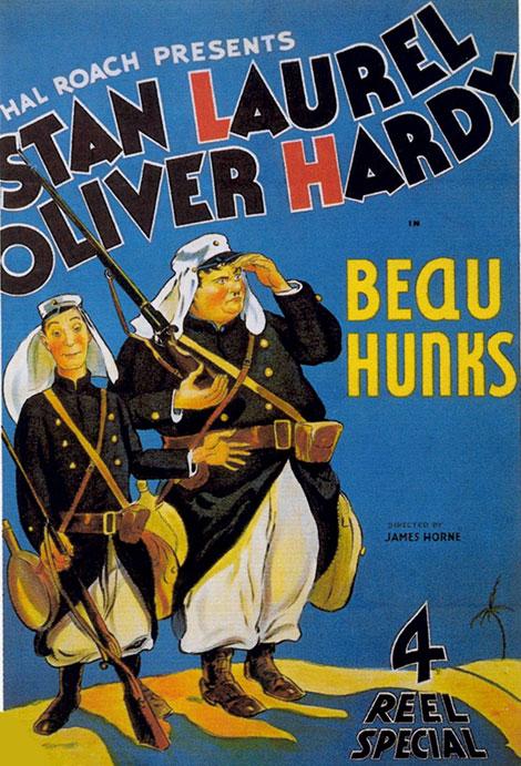 دانلود دوبله فارسی فیلم دو سرباز Beau Hunks 1931