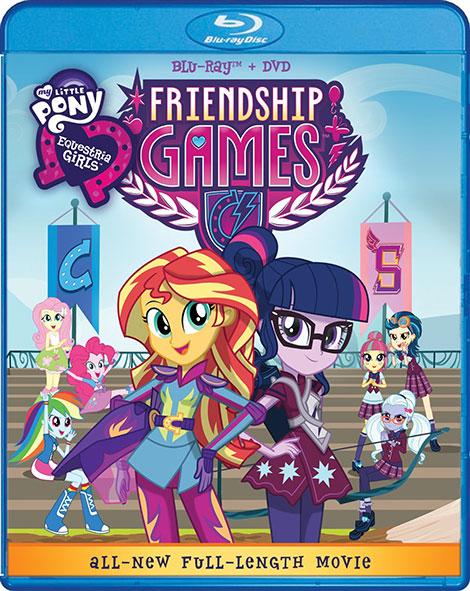 دانلود انیمیشن مسابقات دوستی My Little Pony: Equestria Girls - Friendship Games 2015
