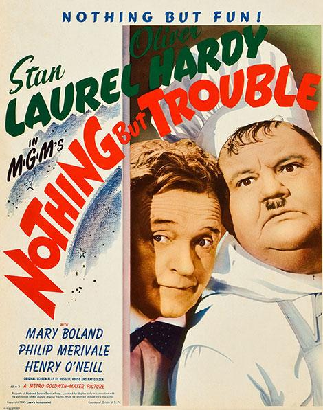دانلود دوبله فارسی فیلم Nothing But Trouble 1944