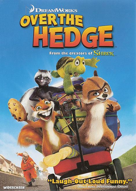 دانلود دوبله فارسی انیمیشن Over The Hedge 2006