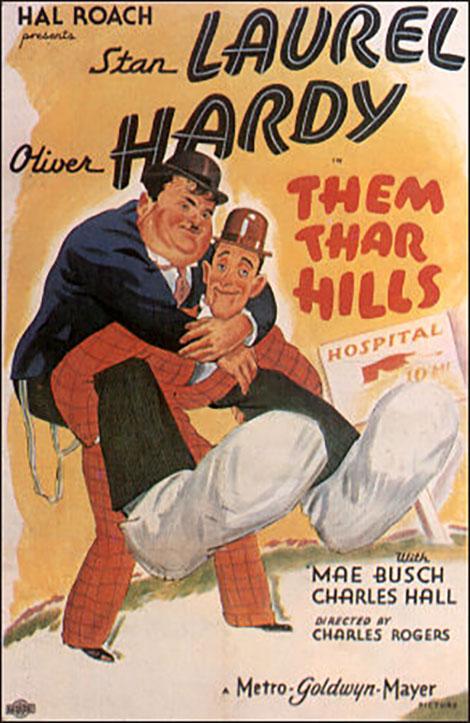 دانلود رایگان دوبله فارسی فیلم در کوهستان Them Thar Hills 1934
