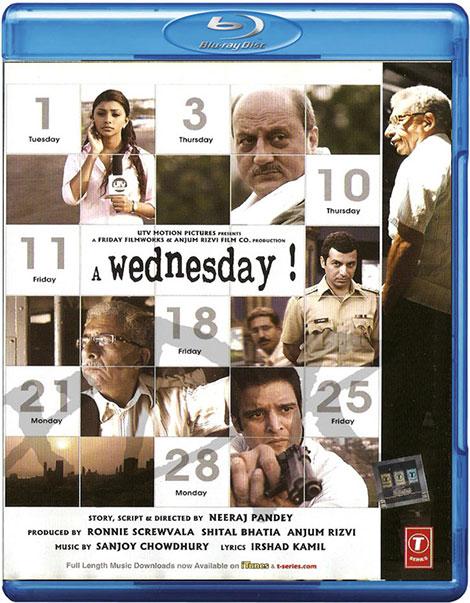 دانلود دوبله فارسی فیلم یک چهارشنبه A Wednesday 2008