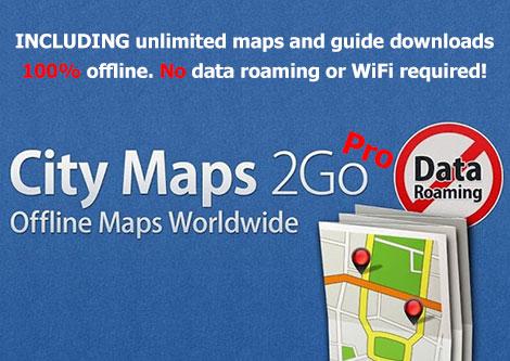 دانلود نقشه آفلاین شهرها City Maps 2Go Pro v3.16.3 Final
