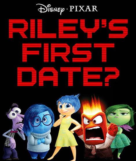 دانلود دوبله فارسی انیمیشن Riley's First Date? 2015