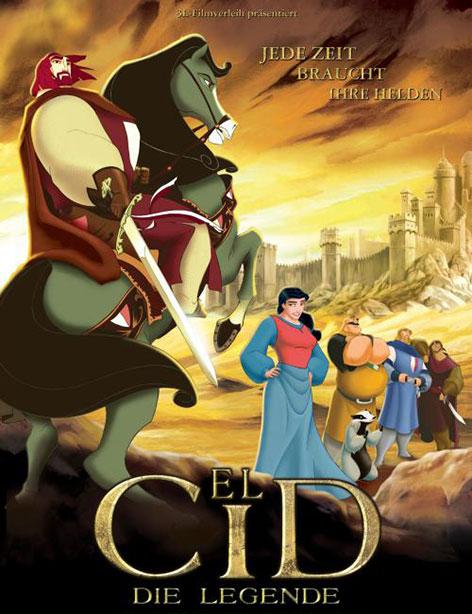 دانلود دوبله فارسی انیمیشن El Cid:The Legend 2003