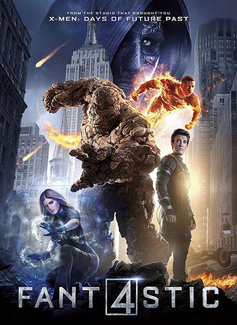 دانلود دوبله فارسی فیلم چهار شگفت انگیز Fantastic Four 2015