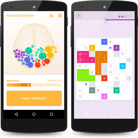 دانلود بازی فکری Memorado: Brain Games Premium 1.6.0 Paid
