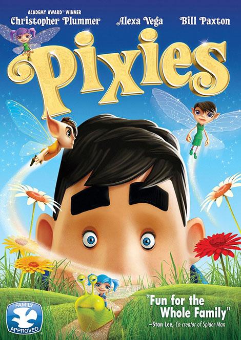 دانلود انیمیشن پیکسیس, دانلود انیمیشن Pixies 2015, دانلود مستقیم انیمیشن Pixies 2015 BluRay