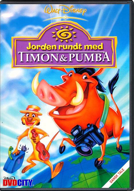 دانلود دوبله فارسی انیمیشن Around the World with Timon and Pumbaa 1996