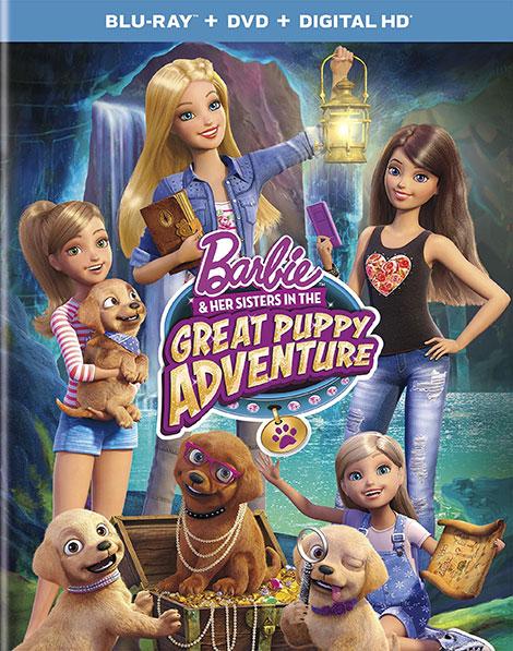 دانلود انیمیشن Barbie And Her Sisters in the Great Puppy Adventure 2015