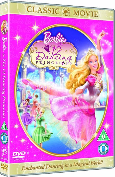 دانلود انیمیشن Barbie in The 12 Dancing Princesses 2006
