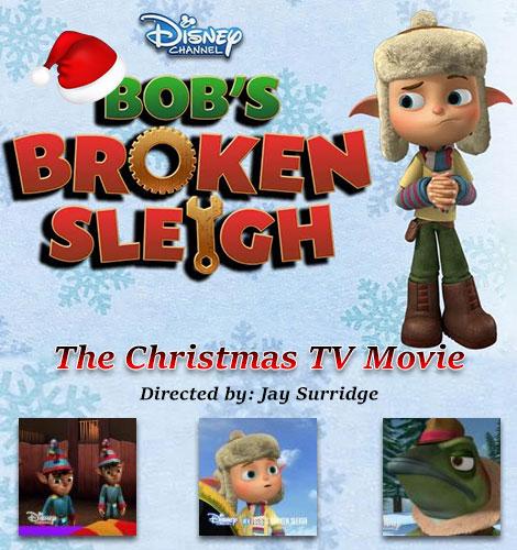 دانلود رایگان انیمیشن سورتمه شکسته باب Bob's Broken Sleigh 2015