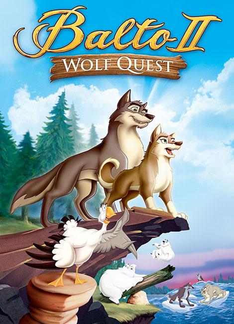 دانلود انیمیشن بالتو 2 با دوبله فارسی Balto: Wolf Quest 2012