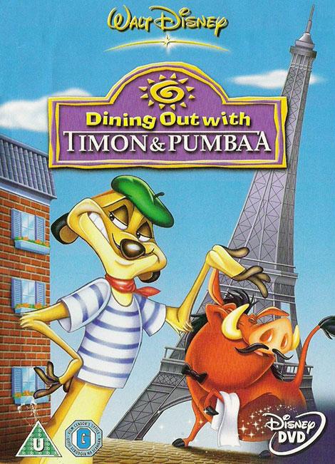 دانلود دوبله فارسی انیمیشن Dining Out with Timon and Pumbaa 1997