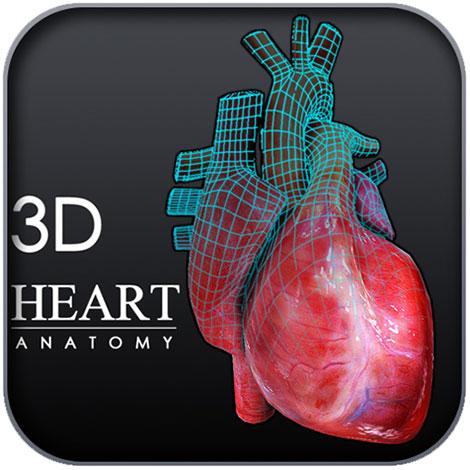 دانلود نرم افزار آناتومی سه بعدی قلب Heart 3D Anatomy