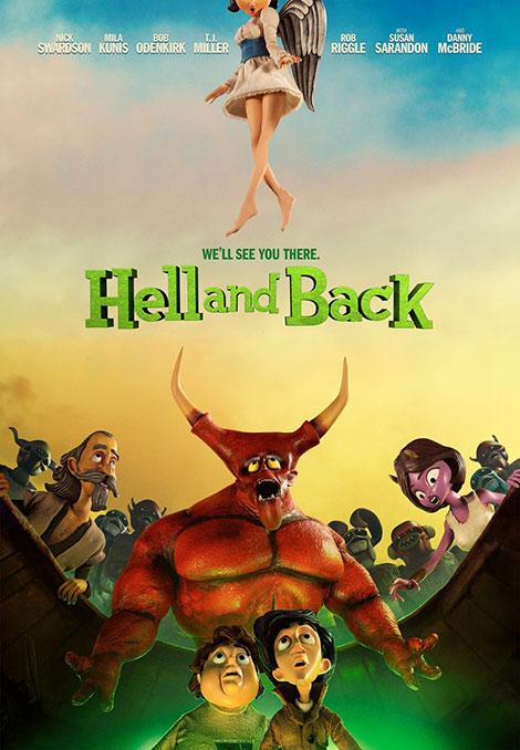دانلود انیمیشن جهنم و بازگشت Hell and Back 2015