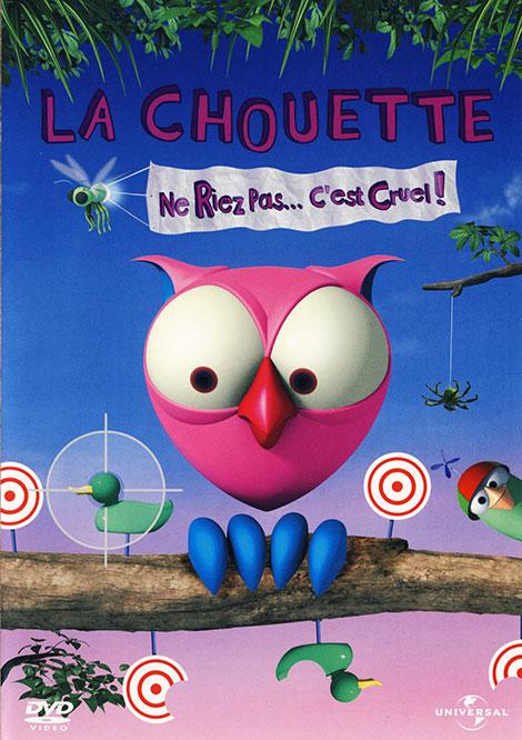 دانلود فصل اول انیمیشن سریالی جغد صورتی La Chouette 2006