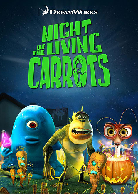 Monsters vs Aliens: Night of the Living Carrots 2011