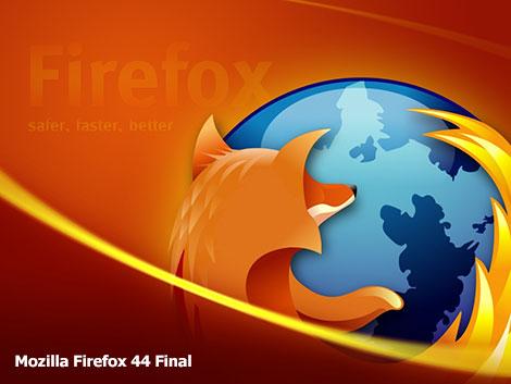 دانلود نسخه جدید فایرفاکس Mozilla Firefox 44 Final