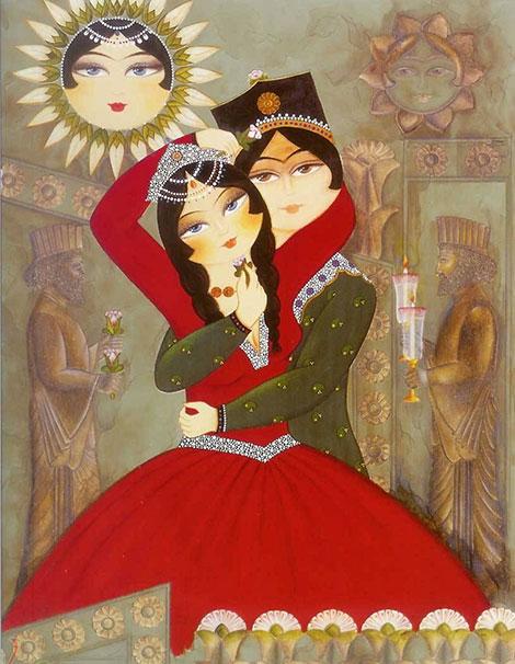 پیامک های تبریک جشن سپندارمذگان 5 اسفند 1394