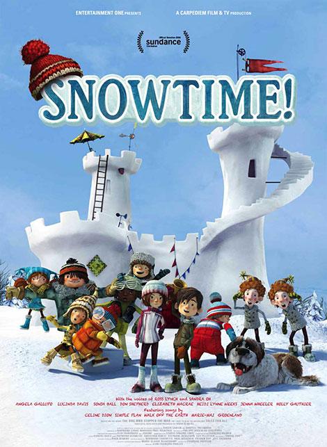دانلود انیمیشن وقت برف Snowtime! 2015