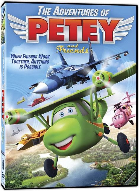 دانلود انیمیشن The Adventures of Petey and Friends 2016