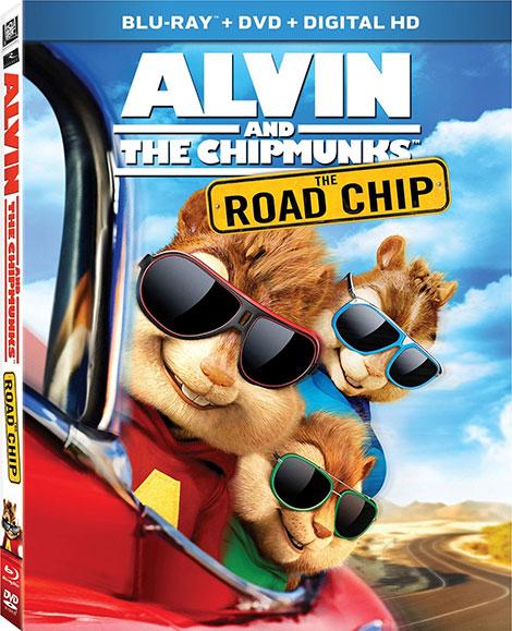 دانلود انیمیشن Alvin and the Chipmunks: The Road Chip 2015