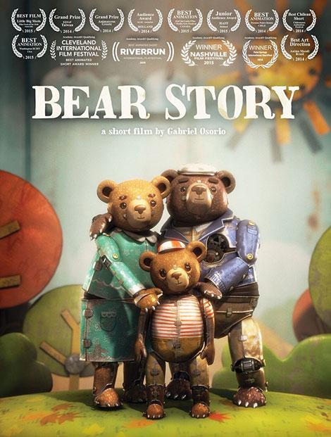دانلود انیمیشن داستان خرس Bear Story 2014