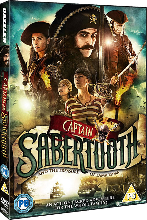 دانلود دوبله فارسی فیلم Captain Sabertooth and the Treasure of Lama Rama 2014