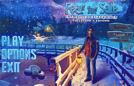 دانلود بازی Fear for Sale 8: The House on Black River Collector's Edition