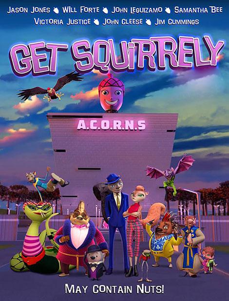دانلود انیمیشن سنجاب باهوش Get Squirrely 2015