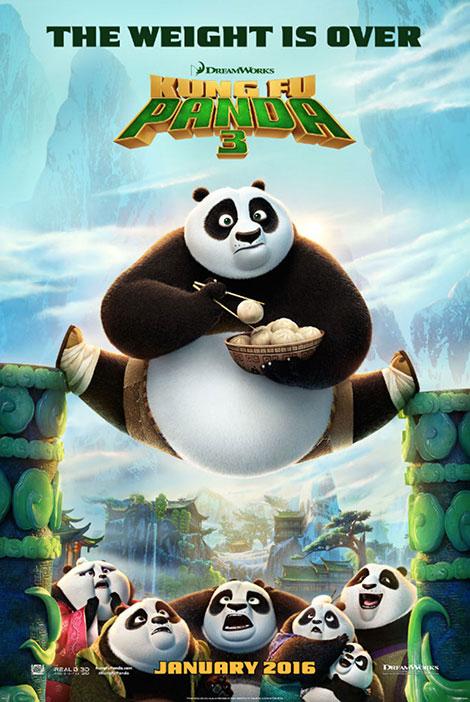 دانلود انیمیشن Kung Fu Panda 3 2016 دوبله فارسی