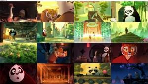 دانلود کارتون پاندای کونگ فو کار Kung Fu Panda: Secrets of the Scroll 2016