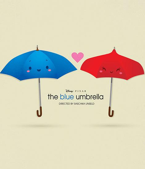 دانلود انیمیشن کوتاه چتر آبی The Blue Umbrella 2013