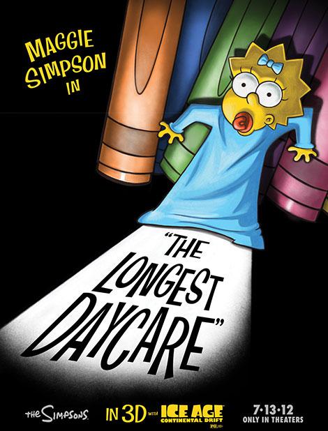 دانلود انیمیشن کوتاه The Simpsons: The Longest Daycare 2012