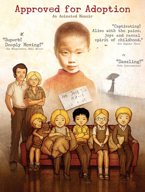 دانلود دوبله فارسی انیمیشن Approved for Adoption 2012