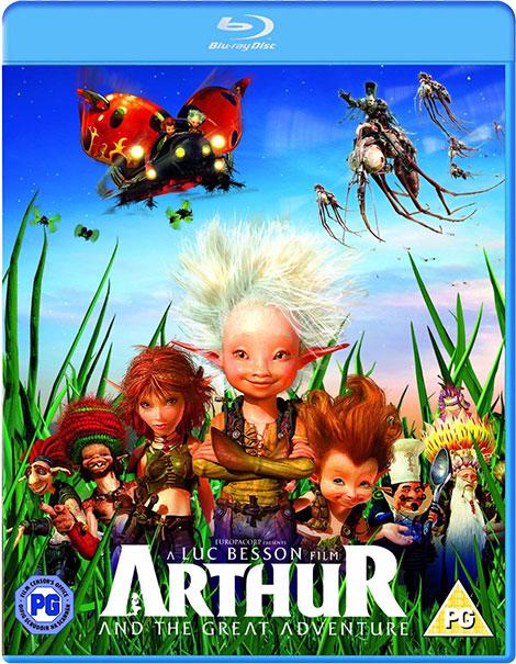 دانلود دوبله فارسی انیمیشن Arthur and the Invisibles 2 2009