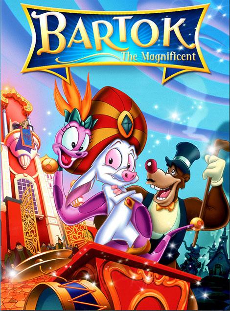 دانلود دوبله فارسی انیمیشن بارتوک باشکوه Bartok the Magnificent 1999