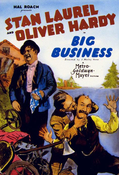 دانلود دوبله فارسی فیلم تجارت بزرگ Big Business 1929