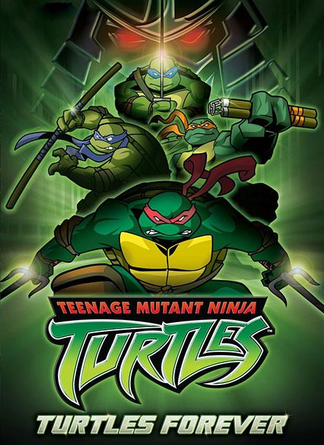 دانلود انیمیشن لاک پشت های نینجا برای همیشه Turtles Forever 2009