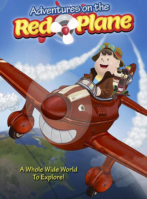 دانلود انیمیشن Adventures on the Red Plane 2016