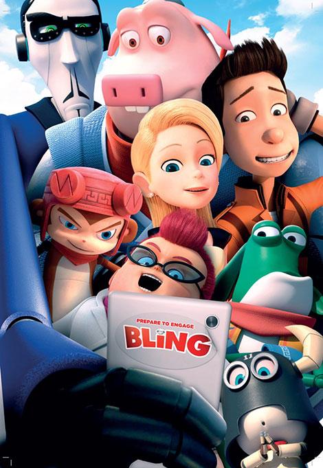 دانلود انیمیشن بلینگ Bling 2016