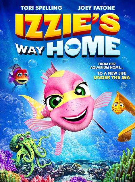 دانلود دوبله فارسی انیمیشن Izzie's Way Home 2016