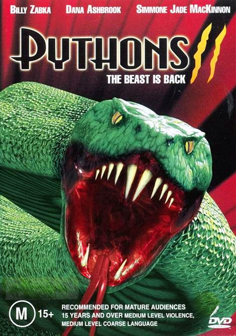 دانلود دوبله فارسی فیلم مارهای پیتون Python 2 2002