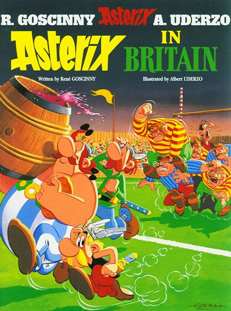 دانلود دوبله فارسی انیمیشن Asterix in Britain 1986