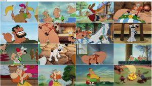 دانلود انیمیشن آستریکس در بریتانیا با دوبله فارسی