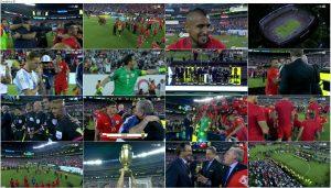 دانلود مراسم اختتامیه و اهدای جام کوپا آمه ریکا 2016