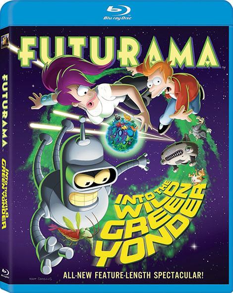 دانلود انیمیشن Futurama: Into the Wild Green Yonder 2009